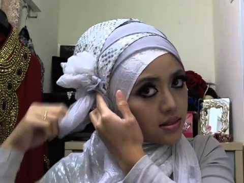 Cara Memakai Jilbab Pengantin Muslimah Modern Cara Memakai Jilbab Modern