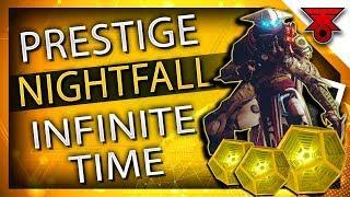 Destiny 2 | PRESTIGE NIGHTFALL UNLIMITED TIME GLITCH - EXODUS CRASH INFINITE TIME CHEESE