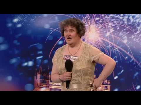 "Download SUSAN BOYLE ""I DREAMED A DREAM"" BRITAINS GOT TALENT 2009 SINGER HD Mp4 baru"