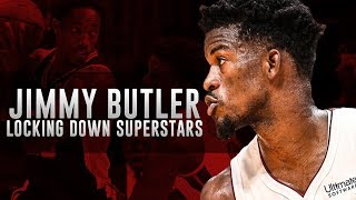 Jimmy Butler Locking Up NBA Superstars