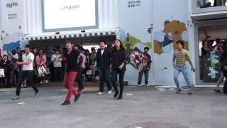 Taekwondo shuffle dance (Martial art) korean street dance as well