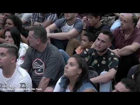 Pregação do Caio no último dia 23, em São Paulo! - Encontro com Caio.
