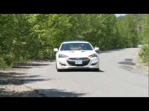 Hyundai Genesis Coupe 3.8GT Video Test Drive