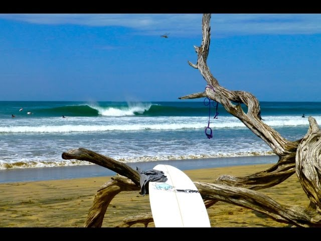 Surf Costa Rica HD | Surfing Playa Avellana, Tamarindo, Costa Rica surf spots - WavesSomewhere.com