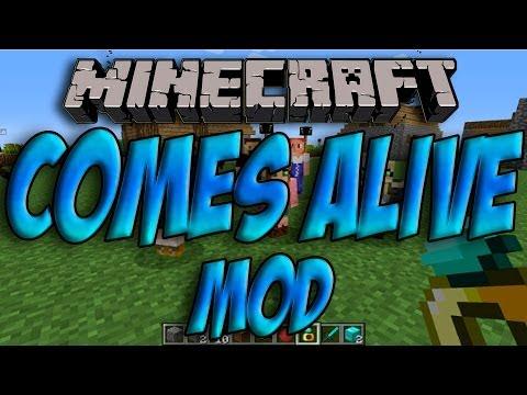 Minecraft 1.7.2 - Como Instalar COMES ALIVE MOD - ESPAÑOL [HD] 1080p