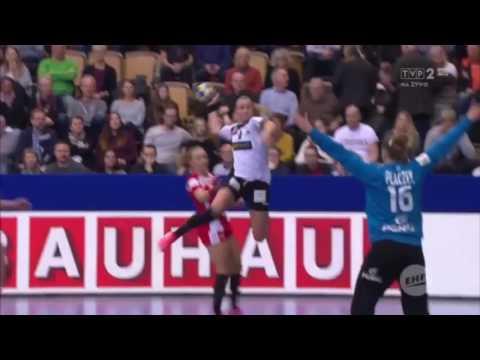 Niemcy Vs Polska 23:22 Piłka Ręczna Kobiet Pierwsza Połowa