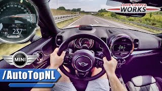 Mini Countryman JCW 231HP AUTOBAHN POV ACCELERATION & TOP SPEED by AutoTopNL