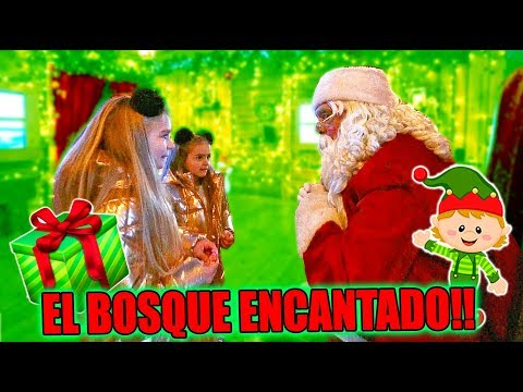 EL BOSQUE MAGICO de NAVIDAD con SANTA CLAUS!! Las Ratitas