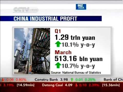 Telecom, auto, power sectors boost total profits of China's Q1 industry