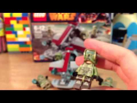 Lego Star Wars (2014) 75035 Kashyyyk Troopers обзор на русс