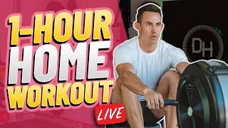Calorie Burn, Legs & Back Home Workout: Group Class