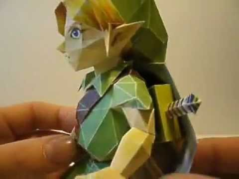 Link / Zelda Papercraft collection
