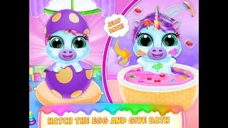 New Born Pony Pet Care - Baby Pet Pony Care  - Baby Unicorn Pony for Kids