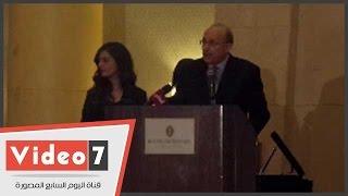 بالفيديو..وزير الصحة: لابد من وضع ضوابط تحكم صناعة الدواء فى الوطن العربى
