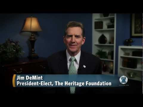 Jim DeMint on the Defense of Marriage