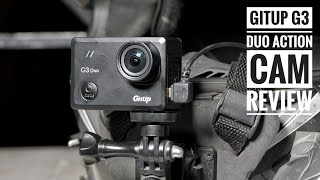 Gitup G3 Duo Review | Best Budget action camera for Motovlogging? | RWR