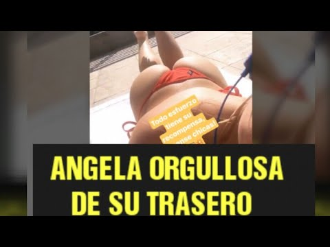 ANGELA DUARTE ORGULLOSA DE SU TRASERO ! thumbnail
