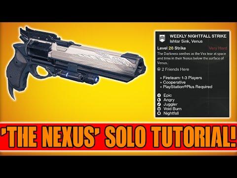 Destiny - Solo the Nexus Weekly Nightfall Strike Tutorial (the Nexus Solo Boss) video