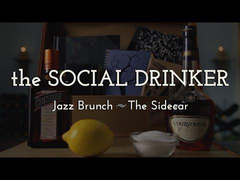 Duke Ellington's Birthday Jazz Brunch -- The Social Drinker -- How to Make a Sidecar.