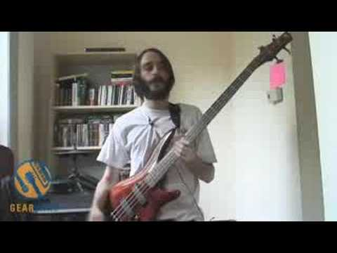 Ibanez SR700 Bass Demo d By Hirsute Gearwire Staffer
