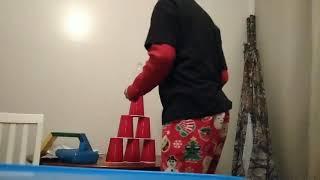 Water bottle flip trick shots 4