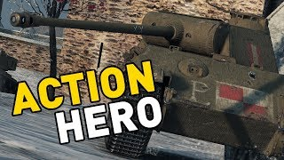 World of Tanks || ACTION HERO!