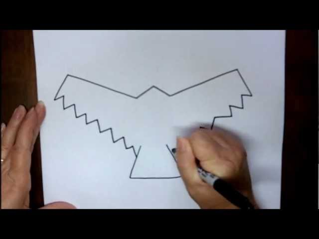 How to Draw a Hawk Easy How to Draw a Hawk Step by