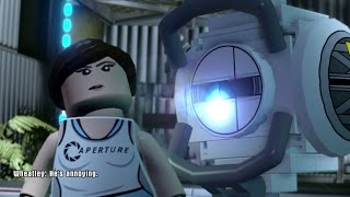 LEGO Dimensions - Portal 2 Level Pack Walkthrough (Aperture Science)