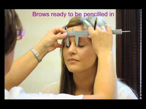HD Eye Brows. Hair by Hair - Permanent makeup tutorial - Natural look - before and after