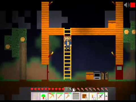 Mine blocks Tutorial Episodio 2 - Construir casa. minerar e plantar