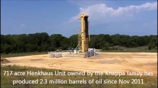 Mind-boggling Eagle Ford oil well production in Southern Gonzales County, Texas