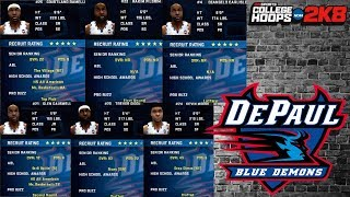 6 NBA Players On 1 College Team | College Hoops 2K8 DePaul Blue Demons Rebuild Ep. 4
