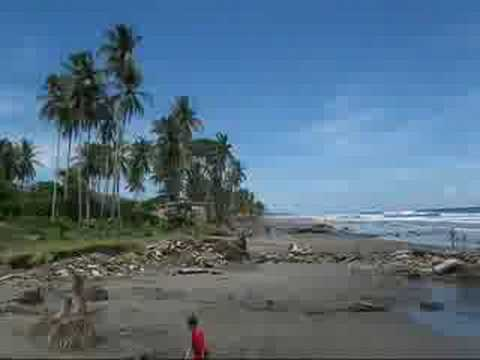Day at the beach: El Espino, Usulutan, El Salvador