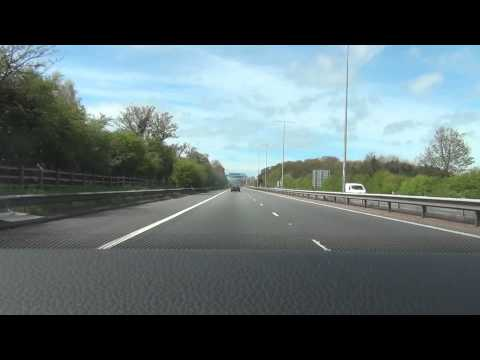 M53 - Mid Wirral Motorway - Time Lapse