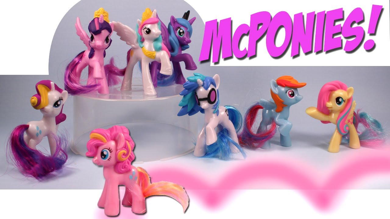 Mcdonalds Happy Meal Toys 2014 My Little Pony McDonalds My Little Pony FIM