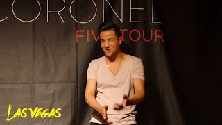 Luis Coronel- Five Tour: California and Las Vegas Behind the scenes!