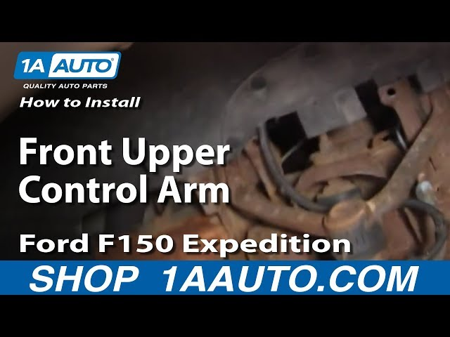 How To Install Replace Front Upper Control Arm Ford F150 ...