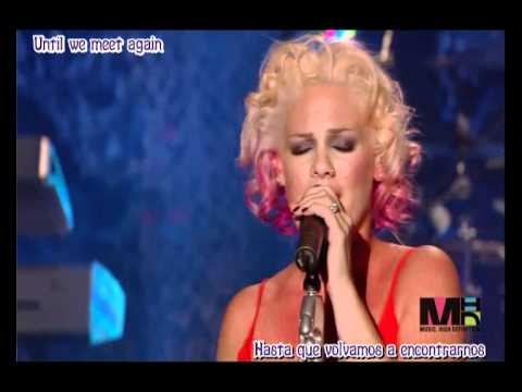Pink   Who Knew  Live In Nyc (subtitulada) video