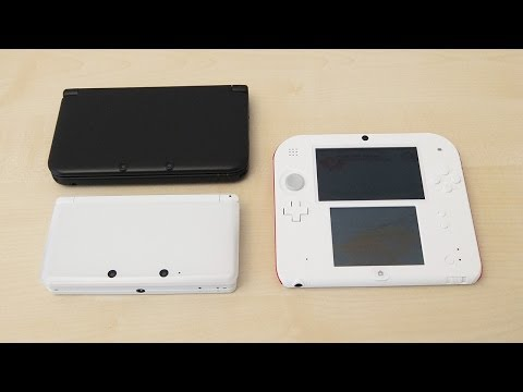 Nintendo 2DS & 3DS & 3DS XL Comparison