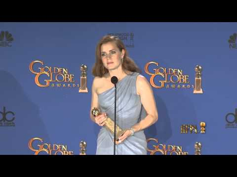 Amy Adams Golden Globes 2015 Press Room Interview