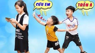 Người Chị Ham Chơi - Bài Học Cho Bé ♥ Min Min TV Minh Khoa