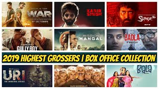 HIGHEST GROSSING BOLLYWOOD BOX OFFICE COLLECTION 2019 | BEST GROSSER HINDI MOVIES 2019 | RV MARATHI