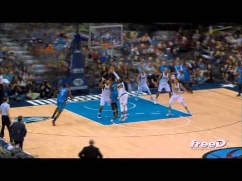 Thunder vs. Mavericks Game Plays in FreeD Video