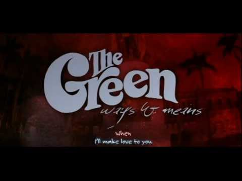 "THE GREEN ""Come In"" Official - Lyric Video"