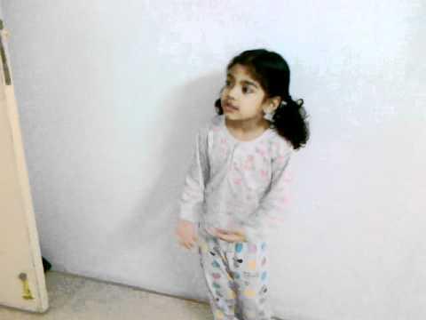 Salma Reciting Hindi video