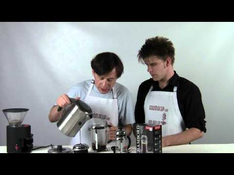 Bodum Chambord Review + How to Make the best French Press Coffee