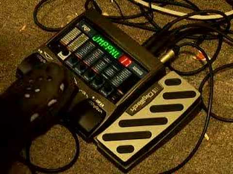 Digitech RP350 demo part 2