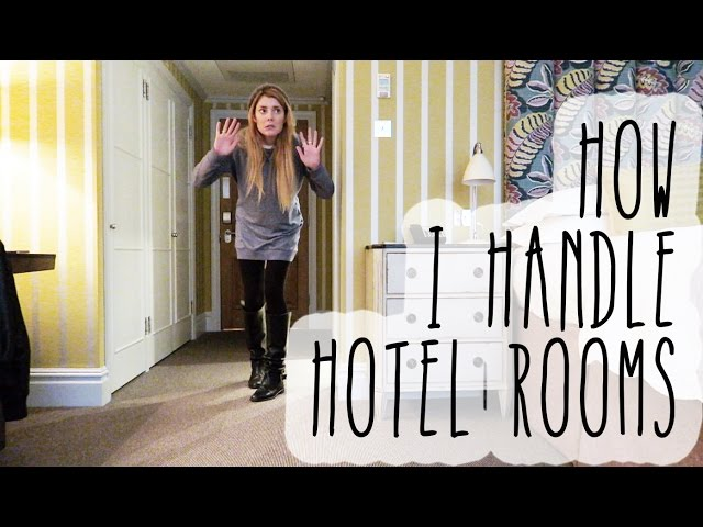 HOW I HANDLE HOTEL ROOMS // Grace Helbig