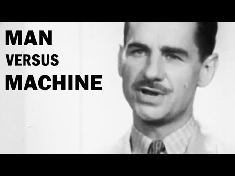 man vs machine 2 essay This essay can machines think and other 63,000+ term papers without that, one would just read the man vs machine game, and simply accept, as fact.