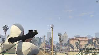 Grand Theft Auto V Online Енотный Ромыч и Кирюха против Истребителя